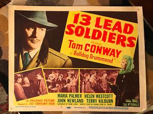 13-Lead-Soldiers-1948-20th-Century-Fox-crime-title-lobby-card-Tom-Conway-Bulldog