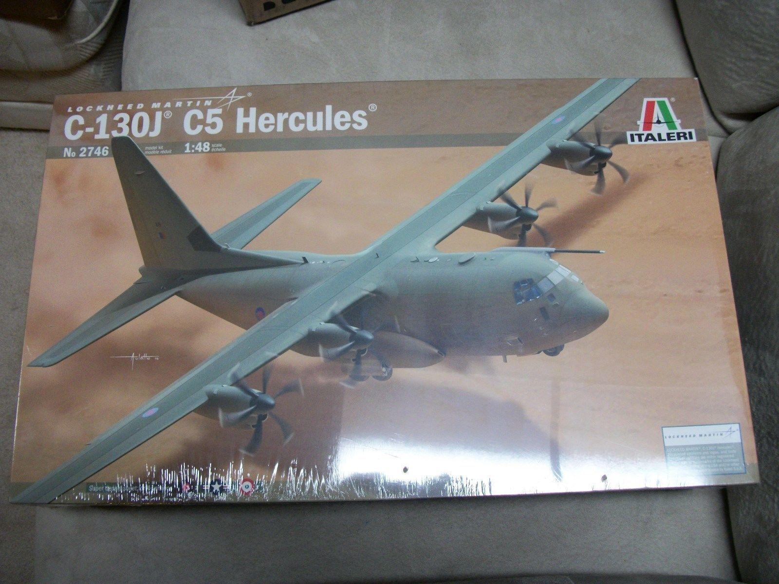 C-130J C5 HERCULES ITALERI 1 48 PLASTIC KIT