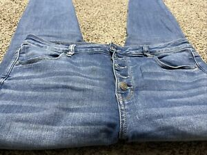 AE-AMERICAN-EAGLE-SUPER-HI-RISE-JEGGING-NEXT-LEVEL-STRETCH-WOMENS-JEANS-SIZE-16