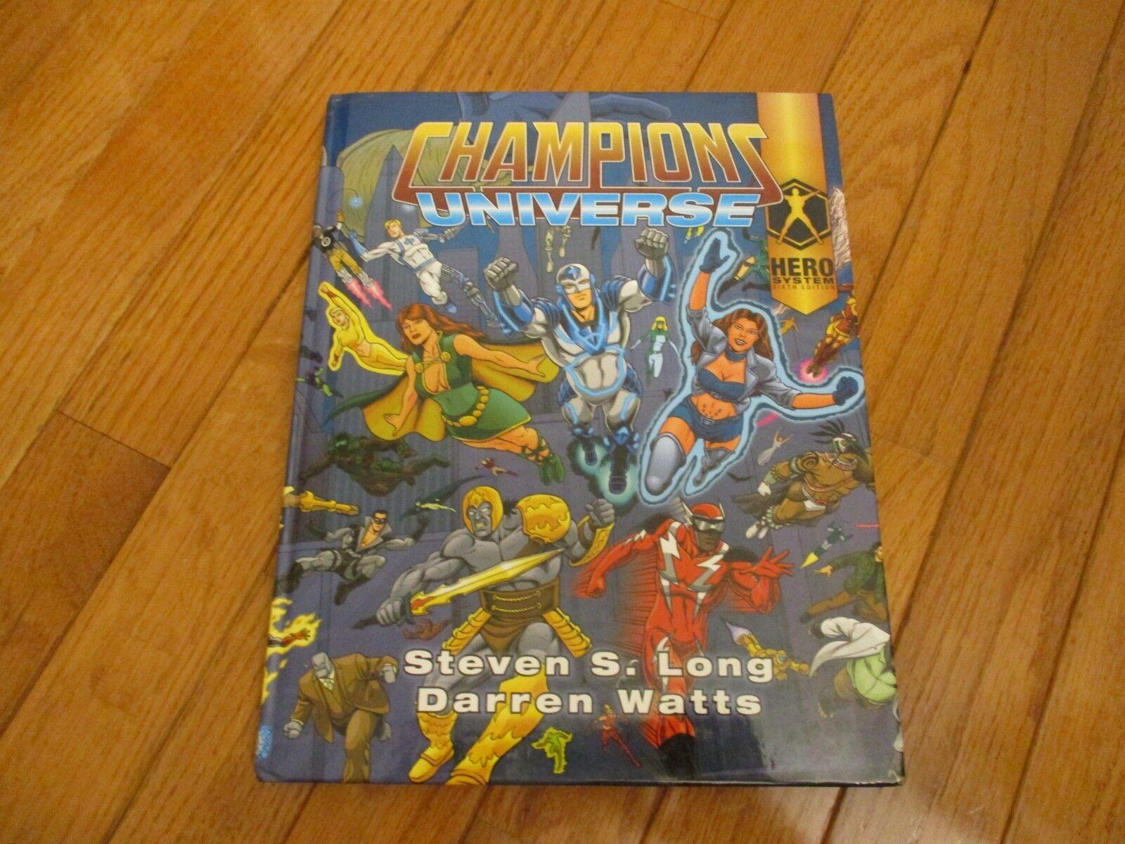 6 e Ed Champions Universe HC