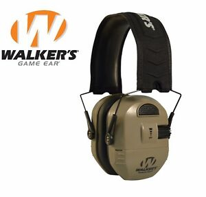 Walker-039-s-Ultimate-Alpha-Power-Muff-Electronic-Earmuffs-NRR-26dB-Earth-Shooting