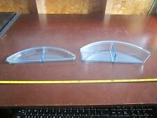 Vintage Tupperware 2207 and 2106 Punch bowl accessories Trays fruit ice drink