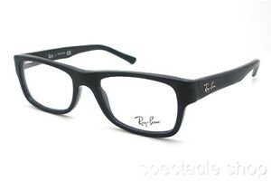 dd2ae6818f Details about Ray Ban RB 5268 5119 Matte Black Authentic RX New
