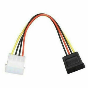 IDE//Molex//IP4//4-pin to SATA Power 15-pin Connector Converter Adapter Cable