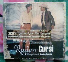 Musica original de la pelicula rudo y cursi 2 cds