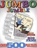 Jumbo Jumble: A Big Book For Big Fans (jumbles) By Tribune Media Services, (pape