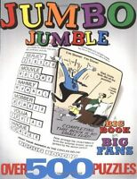 Jumbo Jumble: A Big Book For Big Fans (jumbles) By Tribune Media Services, (pape
