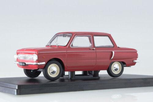 1972 LEGENDARY SOVIET HACHETTE LSA11 1:24 ZAZ966 ZAPOROZHETS USSR RUSSIAN CAR