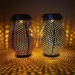 LED-Solar-Gartenlicht-Solarleuchte-Lampe-Haengen-Wasserdicht-Beleuchtung-DE