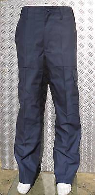 "Blu Navy Stile Militare Combat Cargo//utility//Campo Pantaloni Taglia 36/""-40/""NEW"