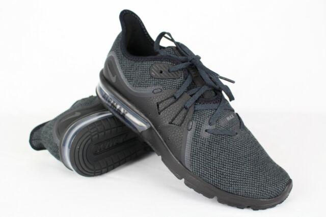 e7e34e0cb12 Nike Women Air Max Sequent 3 Running Size 8.5 Black 908993-010