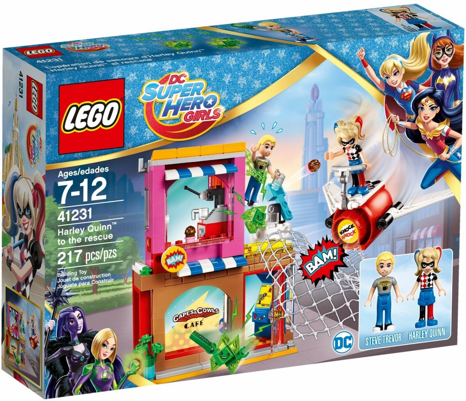 Super Hero Harley Quinn To The Rescue Building Set By Lego Girls Dc
