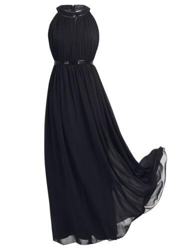 Damen Abendkleider Pailletten Lange Brautjungfernkleider Party Hochzeit Kleider