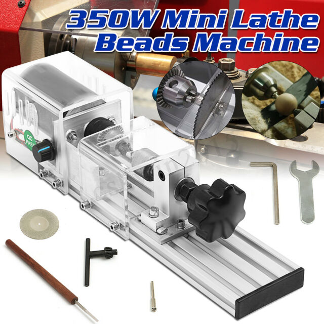 Raitool 96W Mini Lathe Beads Saw Machine Woodworking Polishing Cutting Drill Set