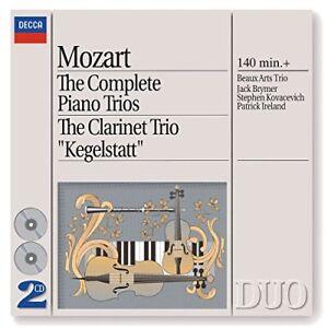 Beaux-Arts-Trio-Mozart-The-Complete-Piano-Trios-Clarinet-Trio-CD