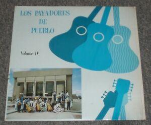 Los-Payadores-De-Pueblo-Volume-IV-RARE-Mexican-Spanish-Folk-Guitar-FAST-SHIP
