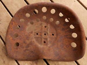 Vintage Tractor seat Rusty Antique repurpose bar stool Salvage Farm Rust Used