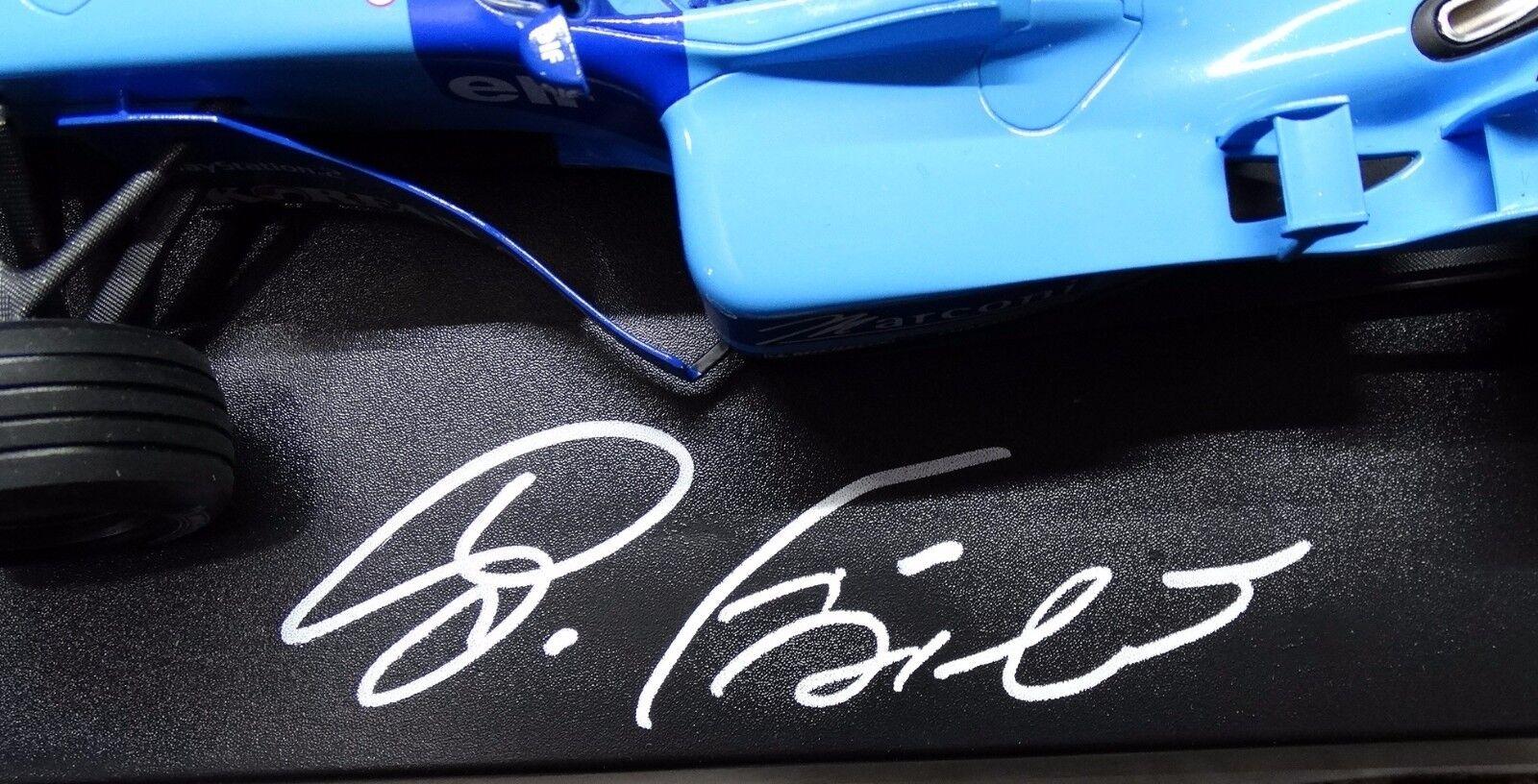 BENETTON RENAULT B201 Gianautolo FISICHELLA F1 signed signed signed autografato 1 18 NO SPARK dae9bd