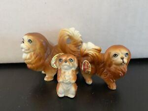 Pekingese-Dog-Figurine-Hi-Style-By-Bridge-Dog-Figurine-Bone-China-Japan-Antique