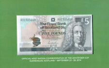 The Royal Bank of Scotland Commemorative Banknote with Folder UNC Hybrid