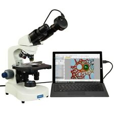Omax 40x 2000x Lab Biological Compound Siedentopf Led Microscope13mp Camera
