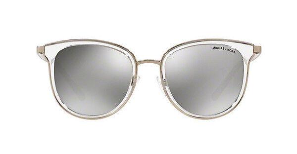 Michael Kors Adrianna I Sonnenbrille Transparent und Silber 11026G 54mm RcubM