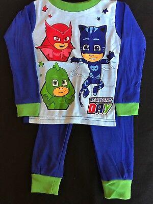 PJ MASKS GECKO CATBOY Cotton Snug-Fit Pajamas Sleepwear Set NWT Toddler/'s  $20
