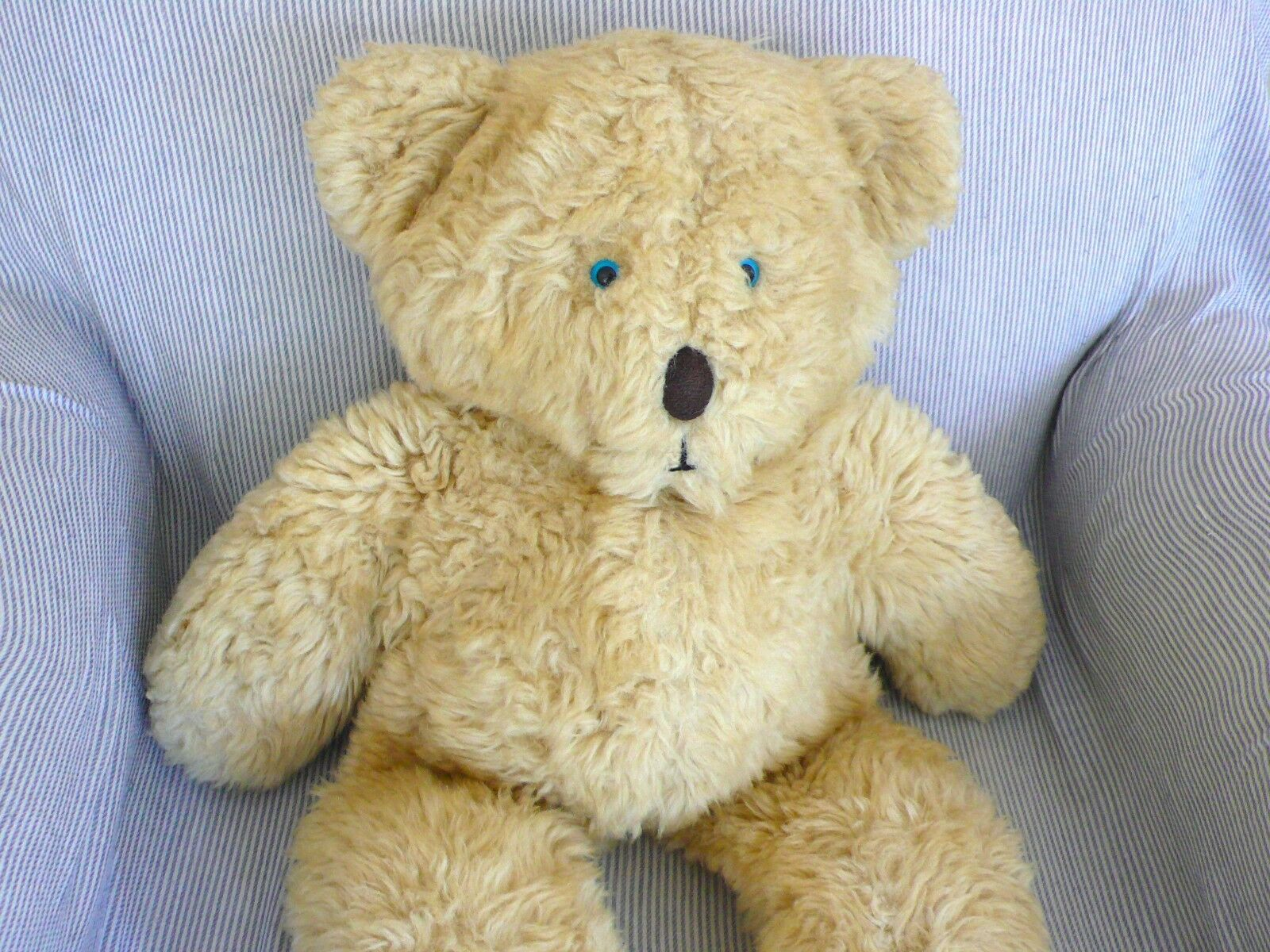 Trapunta Vintage 80s grande più simpatico faccia cuddliest Peluche Teddy Bear 57cm MADE in Canada