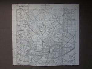 Carta-Italia-Correzzo-IGM-Maccacari-Borghesana-Roncanova-Geografia-Cartiglio