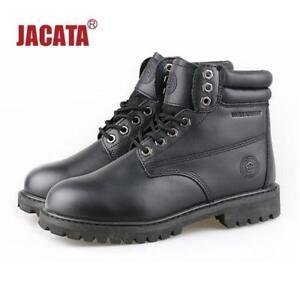 "Jacata Men's Winter Snow Work Boots Shoes 6"" Premium Waterproof Leather 8601"