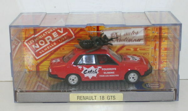 Norev 1 43 scale-Renault 18 GTS-catch foudroye elimine