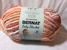 Bernat Baby Blanket Yarn 10.5oz Skein Color Peachy
