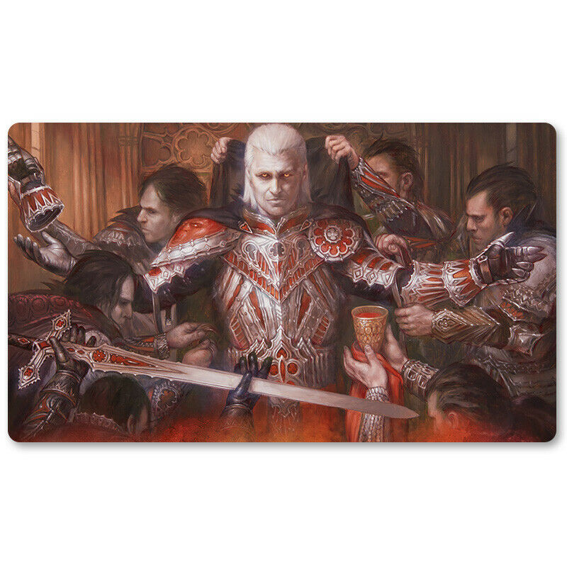 Art By Volkan Baga - Board Game MTG Playmat Games Mouse