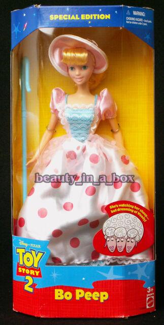 Mattel Toy Story 2 Disney Pixar Special Edition Bo Peep Doll 1999 Ebay
