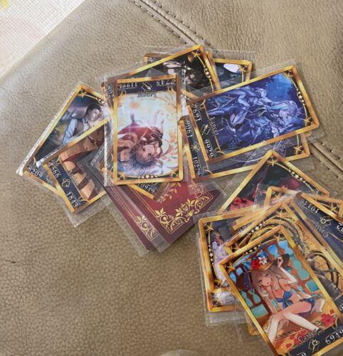 40 PCS Fate Grand Order FGO Cards Alter Saber Cards Collection Set Japanese Ver