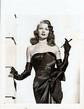 GILDA (1946) Vintage original 5x7 photo ft. Hayworth in iconic pose, costume