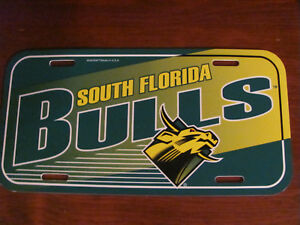 The Sports Fan Store USF Bull Plastic Tag Cover Black with Emblem