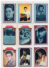 ELVIS PRESLEY set of 66 collector cards 1978 Boxcar Enterprises