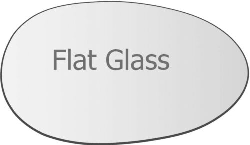 Wing Mirror Glass For Rover MG ZT 2001-2005 Right Driver Side