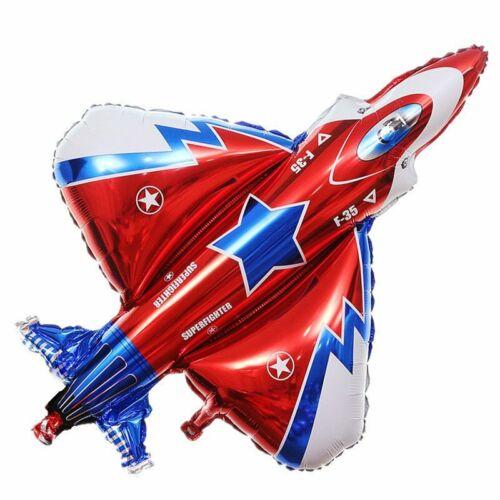 Jumbo Airplane Jet Fighter Plane Balloon Birthday Party Decoration