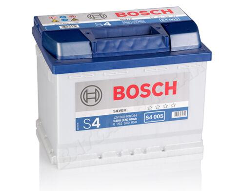 Autobatterie BOSCH  12V 60Ah 540 A//EN S4 005 60 Ah TOP ANGEBOT SOFORT /& NEU