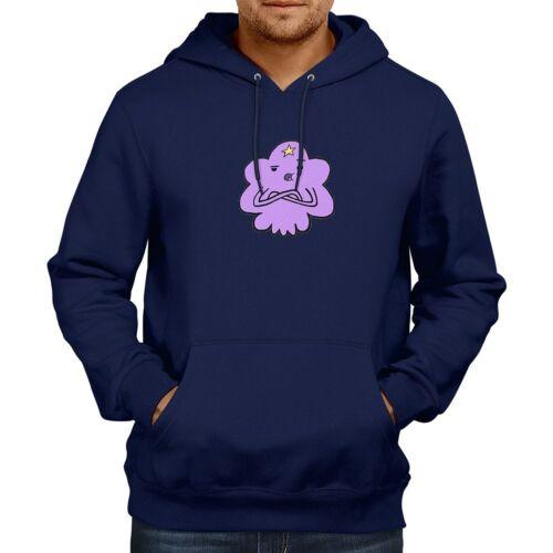 Lumpy Space Princess Cartoon Hooded Sweater Pullover Hoodie Sweatshirt Outwear