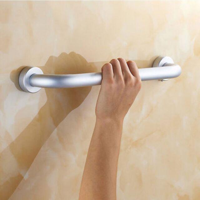 Bath Shower Grip Handle Bathroom Wall Mount Grab Bar Safety Rail Tub ...