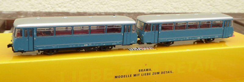 Brawa 64316 Railcar VT 2.09.002 Vb 2.07.002 Dr Ep.3 Panoramascheiben with Dss