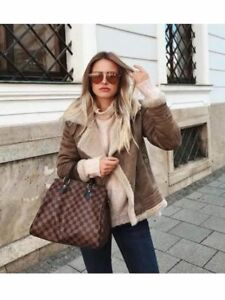 Jacket Suede Bnwt Contrasting Faux Size Zara Xs tEUnHzqxw