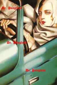 Vintage-Tamara-De-Limpicka-Green-Bugatti-Print-Poster-Art-Deco-Self-Portrait