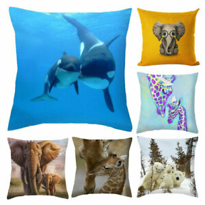 Am-Lovely-Square-Animals-Pattern-Cushion-Cover-Throw-Pillow-Case-Home-Sofa-Deco