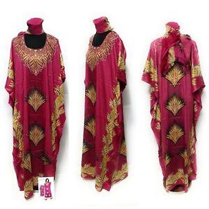 Loose Fit Kaftan Tunic Holiday Dress Beach Cover up.dubai kaftan.abaya.free size
