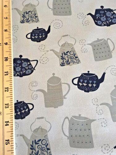 Tea Pots from Stella Design Fabrics 100/% Cotton Pat# SRR651