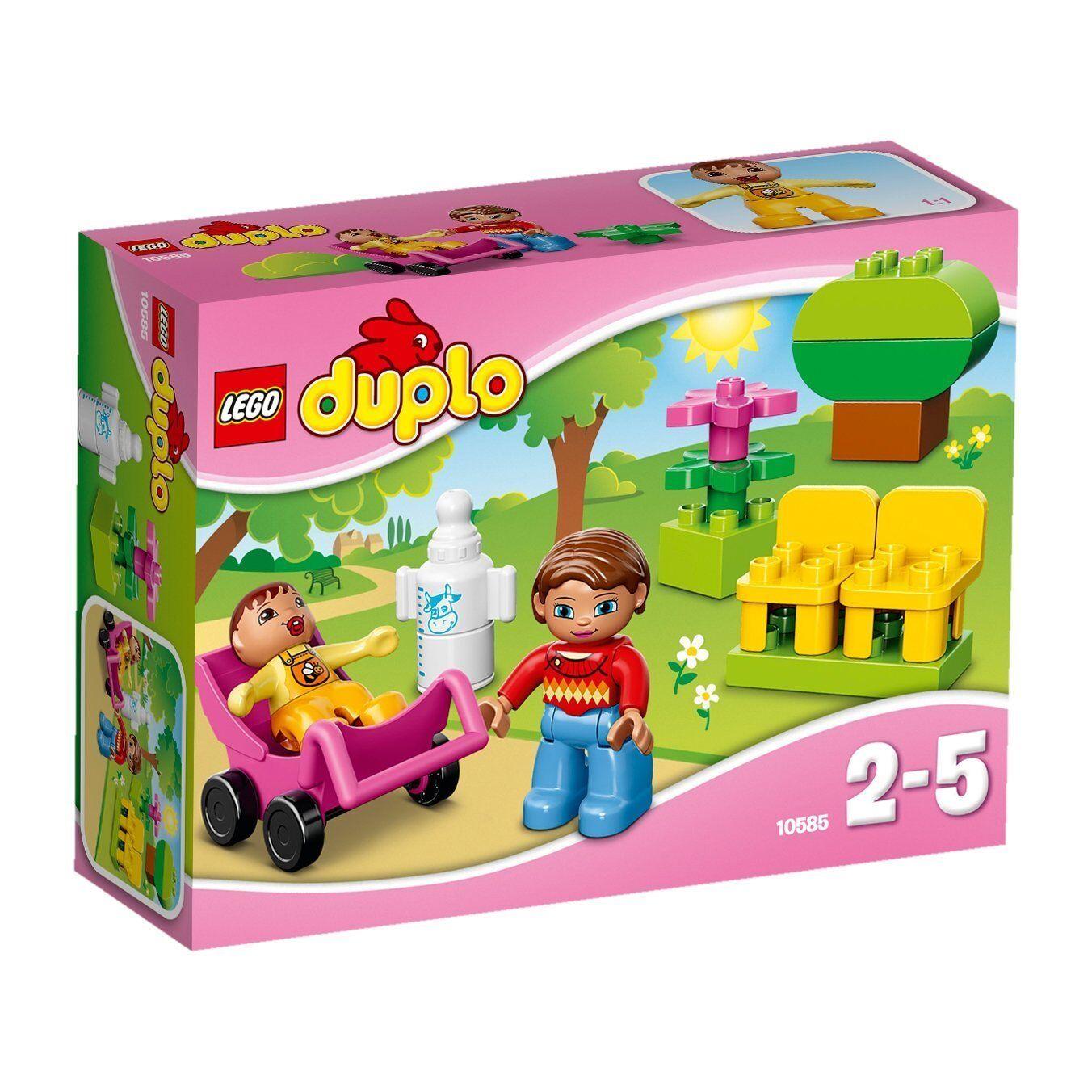 Lego Duplo Town 10585 Mamma e Bambino 2-5 anni set costruzioni gioco mattoncini